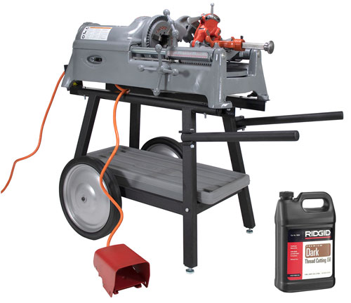 Reconditioned RIDGID® 535 Pipe Threading Machine